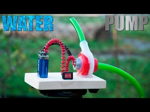 El Yapımı Su Pompası