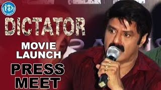 Balakrishna's Dictator Movie Launch- Anjali || Sriwass || Thaman