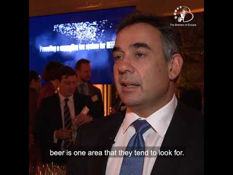 Beer Serves Europe VII - Mr Pavlos Photiades, President of The Brewers of Europe - Part 1
