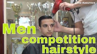 Your Hair For A Dance Competition / Man Competition Hairstyle