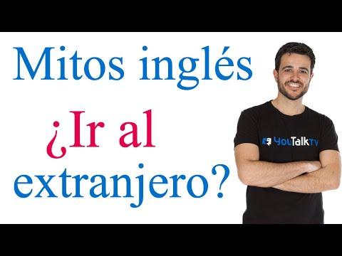 Aprender inglés en el extranjero; Mitos del inglés 1