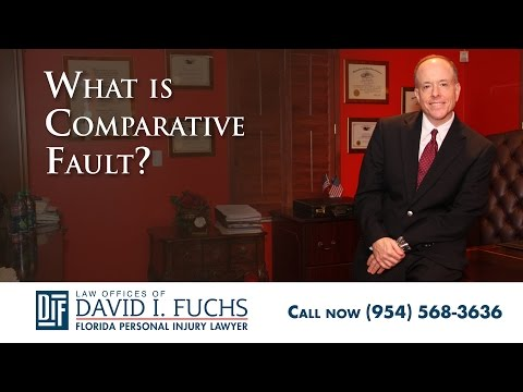 What is Comparative Fault?