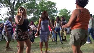 ALBION REUNION-2017 Dancing. Baisley Park Queens NY.