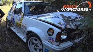 East Belgian Rally 2018 | Crashes Maximum Attack & Mistakes