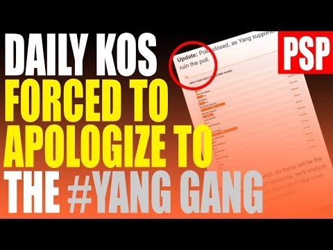 """Progressive Website FORCED to Apologize to Yang Gang after dismissing supporters as """"Spammers"""""""