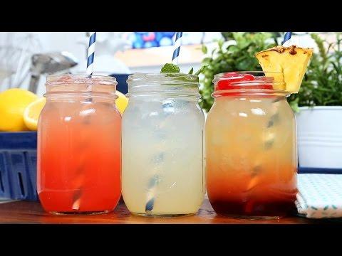 Video 3 Homemade Lemonade Recipes