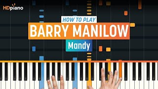 "How To Play ""Mandy"" by Barry Manilow 