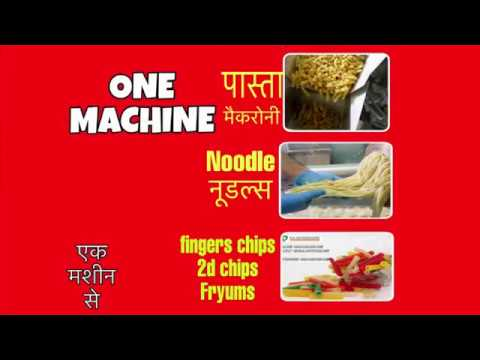 3D Snacks Pellet Making Machine
