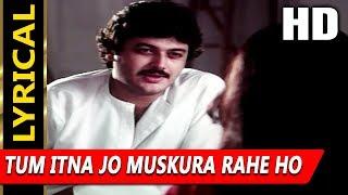 Tum Itna Jo Muskura Rahe Ho With Lyrics | Jagjit   - YouTube