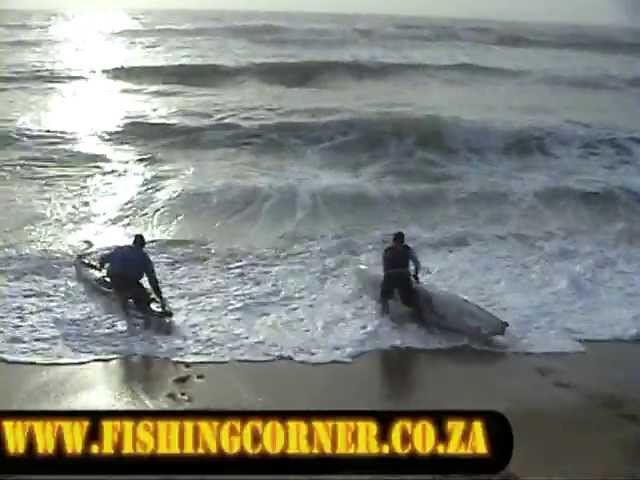 Worst ever kayak surf launch attempt