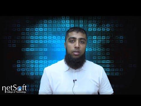 NetSoft College Testimonial Arsalan Khalid