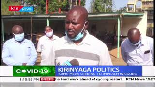 Kirinyaga Politics: 10 MCAs to face disciplinary action as they tell off jubilee party SG