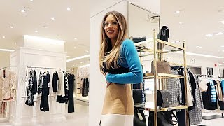 COME FASHION & BEAUTY SHOPPING WITH ME IN HARVEY NICHOLS | Lydia Elise Millen | Kholo.pk