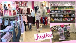 JUSTICE STORE  Autumn/Winter Kids Clothing And Toys Collection |Shop With Me At Macys