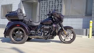 NEW 2021 CVO Tri Glide (Trike) 117 Harley-Davidson - Charred Crimson