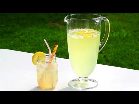 Video Lemonade Recipe - How to Make Homemade Lemonade