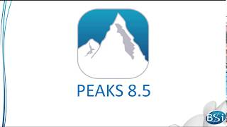 PEAKS Studio 8.5 Overview of Features