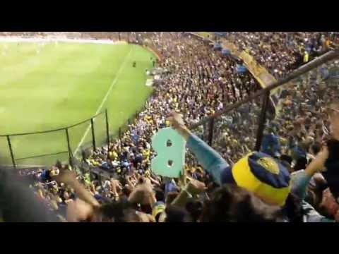 """RIBER DECIME QUE SE SIENTE / Boca campeon 2015"" Barra: La 12 • Club: Boca Juniors • País: Argentina"