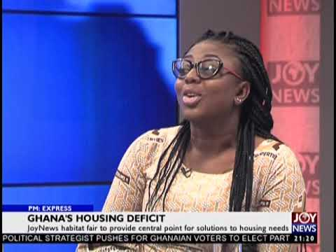 Ghana's Housing deficit - PM Express on JoyNews (20-9-18)