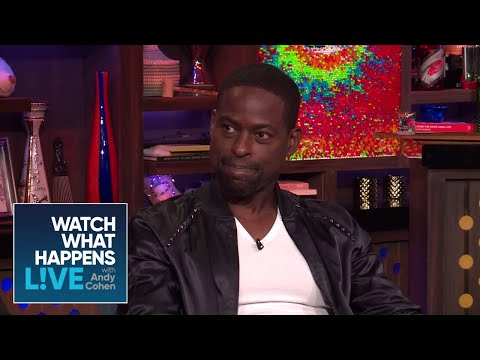 Sterling K Brown On Being Cut Off At The Emmys | WWHL
