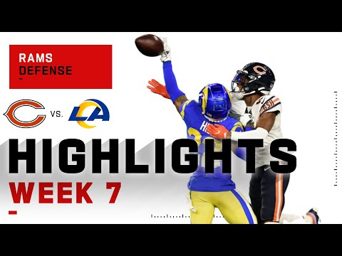 Rams Defense SHUTS DOWN Bears Completely | NFL 2020 Highlights