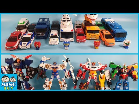 Hello Carbot 4 robots transform to separate into 3,4,6 step combo 17 vehicles!
