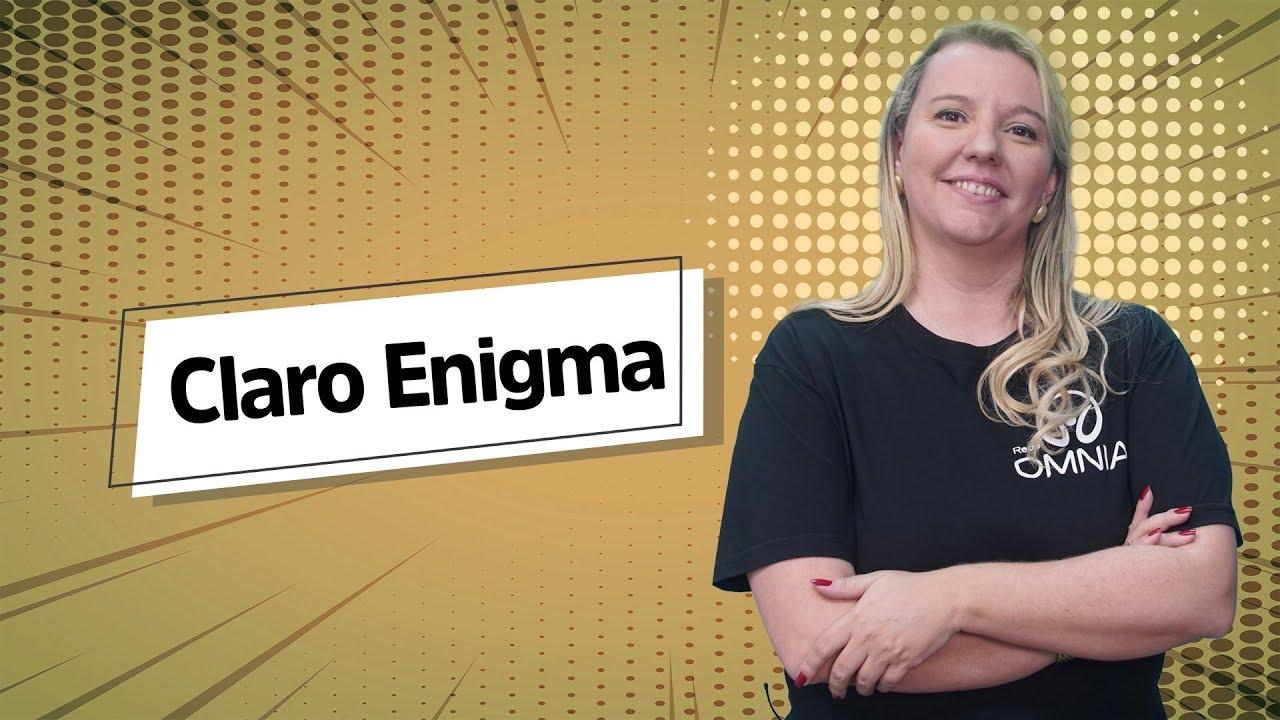 Claro Enigma | Análise Literária [Fuvest]