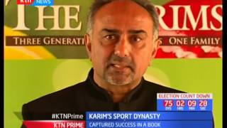 The Karims a sporting family reign in cricket have now documented their legacy in a book