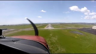 Landing & Takeoff 24 KAPC -- Napa County Airport from KOAK and Back in a Cessna 172