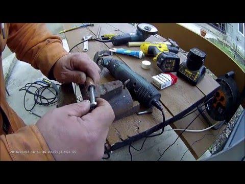 ремонт шланга высокого давления мини-мойки Karcher подручными материалами