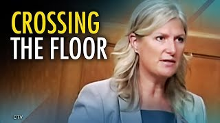 """Floor crossing makes Liberal MP an """"instant Conservative"""" 