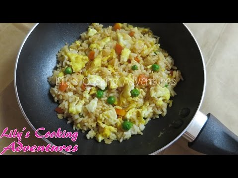 Video Simple and Easy Rice and Egg Kid's Meal | Com Chien