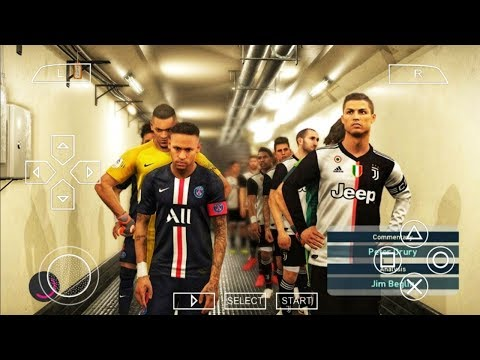 Download PES 2020 Iso PPSSPP eFootball English Version