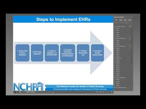 Electronic Health Records Training Module - YouTube