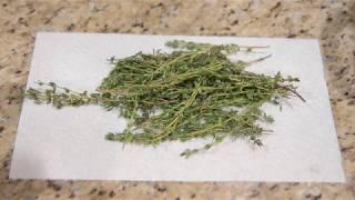 Dehydrating Herbs In The Ninja Foodi