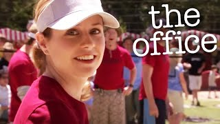 Dunder Mifflin Plays Volleyball - The Office US