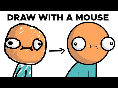 How to Draw with a Mouse - Krita Digital Art Tips & Tricks Tutorial for Beginners | TutsByKai