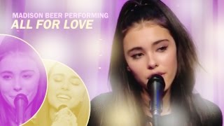 Madison Beer – ALL FOR LOVE (live at AwesomenessTV)