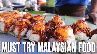 Eating Nasi Lemak and A $60 Durian in Penang With Kyle Le | Malaysian Food