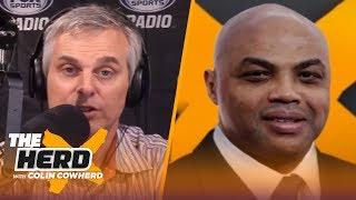 Charles Barkley: 'Impossible' for NBA to play in front of empty arenas, talks Lakers   THE HERD