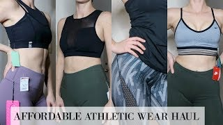AFFORDABLE ATHLETIC WEAR HAUL | NIKE , ADIDAS , ETC...
