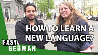 How to learn a new language? (with Luca from The Polyglot Dream) | Easy German 138