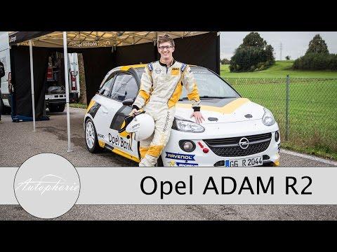 SUPER-SPEZIAL: Opel ADAM R2 Track Test - Rallye Auto selber gefahren! - Autophorie