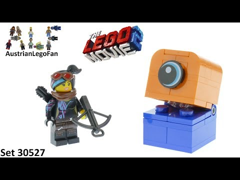 Vidéo LEGO The LEGO Movie 30527 : Lucy vs. Alien Invader (Polybag)