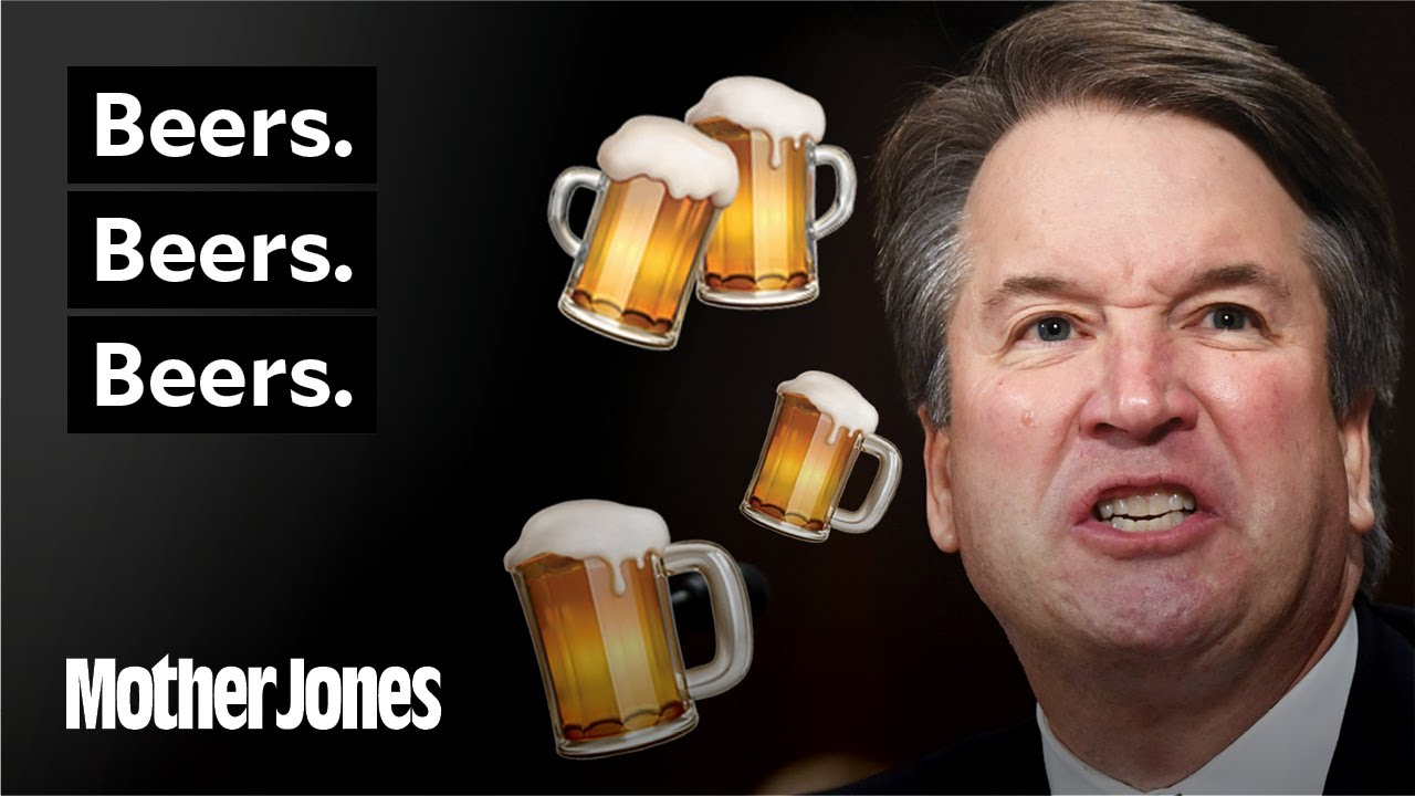Beers. Beers. Beers. All the Times Kavanaugh Said It. And the Awkward Attack It Prompted. thumbnail