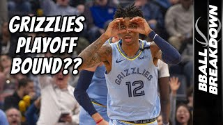 Ja Morant Highlights Surging Grizzlies in Their NBA Playoffs Hunt