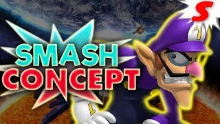 How Would Waluigi Work in Super Smash Bros Switch? - Smash Concept