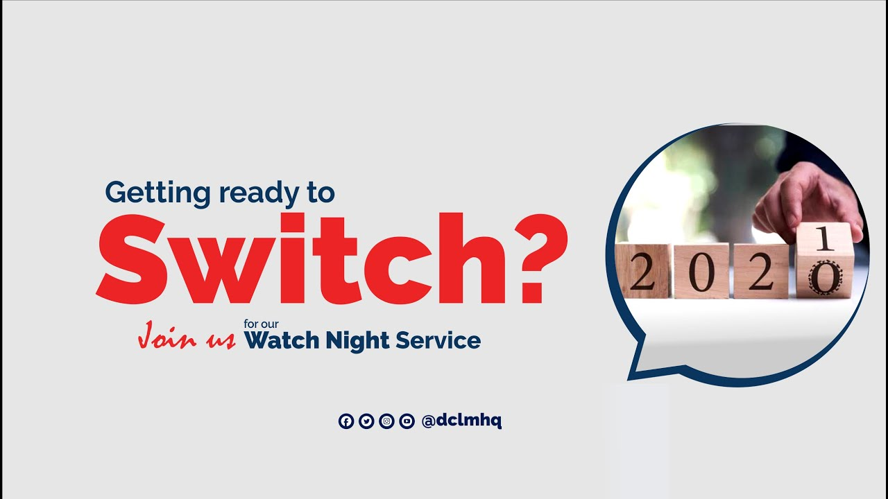 You are watching Today's 31st December 2020 Deeper Christian Life Crossover Night 2020-2021 (Watch Night Service) with Pastor W. F. Kumuyi. May God transform you tonight.