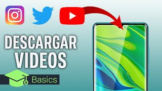 Cómo R Vídeos De Youtube, Instagram, Facebook, Twitter O Tiktok En Tu Móvil