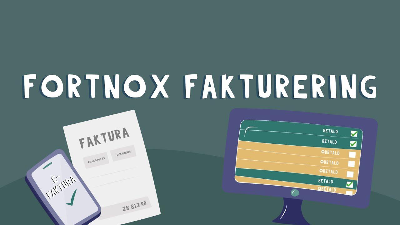 Så fungerar Fortnox Fakturering – ett enkelt faktureringsprogram online